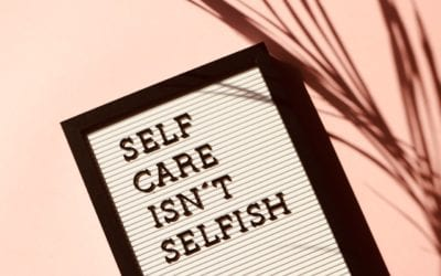 Mental Wellbeing = Self Care